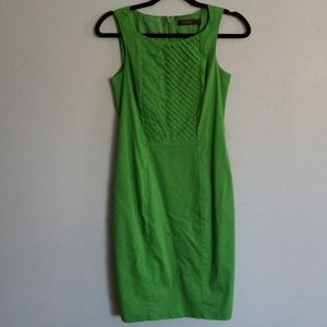 The Limited Green Dress
